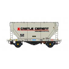 PCA Bulk Cement - Castle Cement Livery - N Gauge