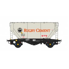 PCA Bulk Cement - Rugby Cement Livery - 'N' Gauge