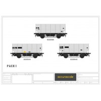 BR 24.5-ton  HUO 1965 Grey Tops hopper wagon -Pack I