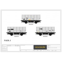 BR 24.5-ton  HUO 1965 Grey Tops hopper wagon -Pack J