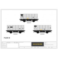 BR 24.5-ton  HUO 1965 Grey Tops hopper wagon -Pack K