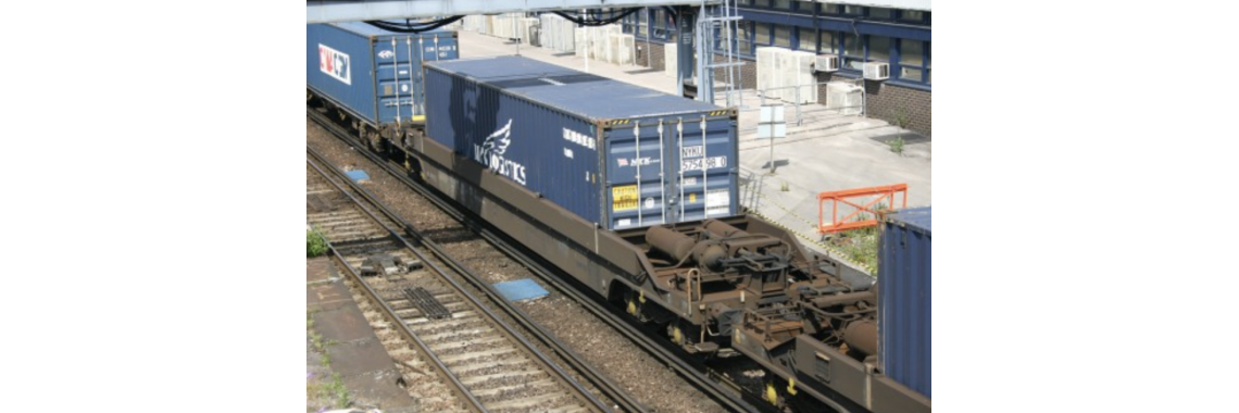 CR-KQA-KTA Pocket Wagon (With a NYK Logistics Container)