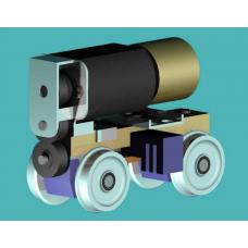 BA 16x6 - (16mm Wheelbase X 6mm Wheels) Suits DC Kits Wickhams Gangers Trolley