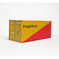 CR-Freightliner (Red-Yellow) 20FT Standard Container - per pair (2)