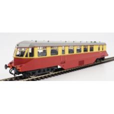 Heljan 19402 W21W Railcar BR Crimson & Cream
