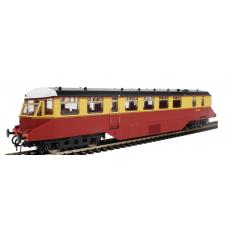 Heljan 19403 W20W Railcar BR Crimson & Cream