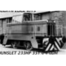 Hunslet 0-4-0 223 HP Diesel Shunter - Complete Kit