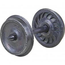 13mm Disc Wheels.
