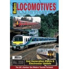 Modern Locomotives Illustrated Issue 233 EMU's & Electrostar.