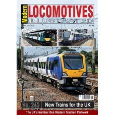 Modern Locomotives Illustrated Issue 243 Classes 195 to Classes 777 including CAF Stock
