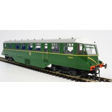 GWR/BR (W32W) BR Green Railcar with Speed Whiskers
