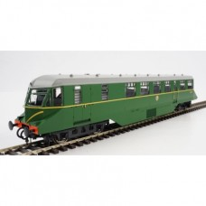 GWR/BR (W26W) BR Green Railcar with Speed Whiskers