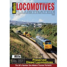 Modern Locomotives Illustrated Issue 237 Preserved Diesel Locomotives