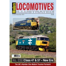 Modern Locomotives Illustrated Issue 239 Class 47 & 57 The New Era