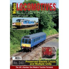 Modern Locomotives Illustrated Issue 240 Preserved Electric locos & Multiple