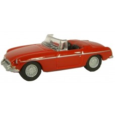 Oxford Diecast MGB Tartan Red / 76MGB001