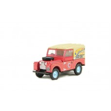 Oxford Diecast Chipperfield Land Rover 88 inch - 1:76 Scale