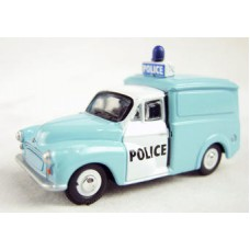 Oxford Diecast Morris Minor Police - Light Bar on Van 76P008