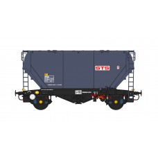 2mm N Gauge PCA Cement-STS Livery (Pack of 3 Wagons)