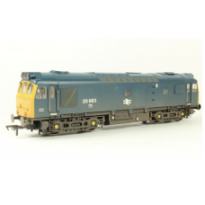 Class 25 BR Weathered Blue 25083 (32-412) 'TWIN SPEAKER FITTED'