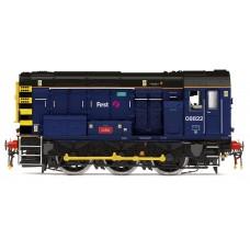 R3343 Hornby Blue Class 08 '08822'