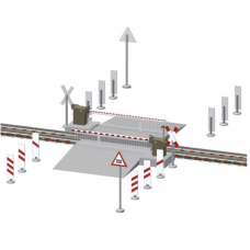 Viessmann Fully Operational level crossing pack