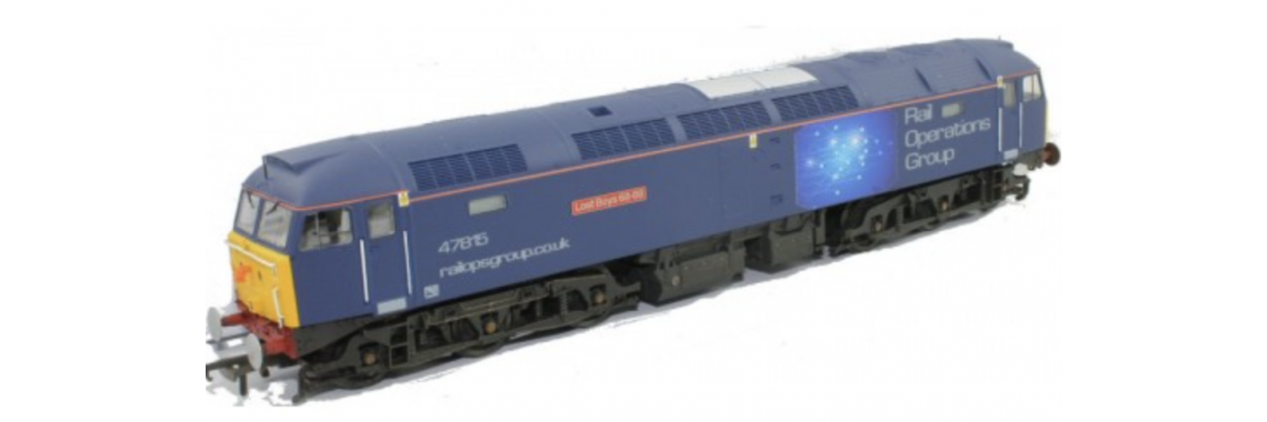 Limited Edition - Class 47 47815 ROG 'DCC Sound Fitted'