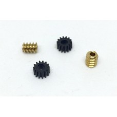 Tenshodo 'SPUD' motor bogie 2 x Nylon gears to suit Brass Worms