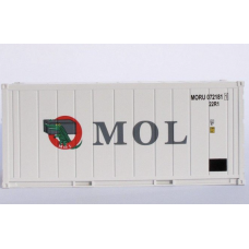 MOL 20FT Refridgerated Containers (Reefers) per pair (2)