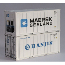 Maersk-Sealand & Hanjin 20Ft Refridgerated Container - Per Pair (2)