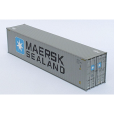 CR - Maersk (Grey Livery) 40ft Hi-Cube: Per Pair (2)