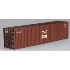 ZIM 40ft Hi-Cube: Per Pair (2)