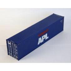 Hi-Cube 40ft x 9'6 APL Blue Livery - pair