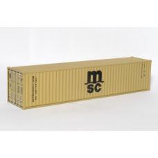 MSC 40Ft Standard Container - Per Pair (2)