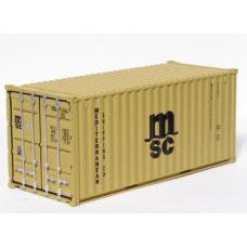 MSC 20Ft Standard Container -Per Pair (2)