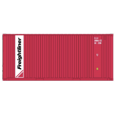 CR-Freightliner (Red) 20FT Standard Container - per pair (2)