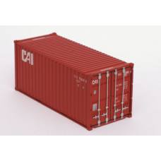 CAI (Red Livery) 20Ft Standard Container - Per Pair (2)