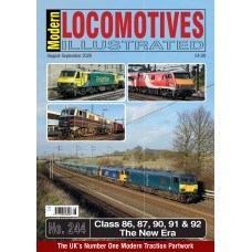 Modern Locomotives Illustrated Issue 244 Electrics 'The New Era'