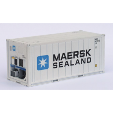 CR-20ft Reefer in MAERSK white livery - Per Pair