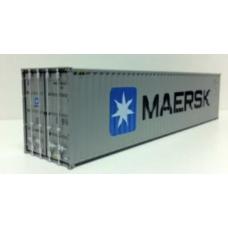 Maersk (Grey Livery) 40ft Hi-Cube: Per Pair (2)