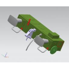 Pack of FLA Plastic Headstock Buffers (4 Buffers)