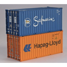 Hapag Lloyd & Safmarine 20Ft Standard Container - Per Pair (2)